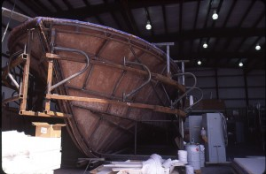 Davis Boatworks makes Carolina-style boats that shoulder rough seas. Courtesy Michael Halminski
