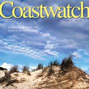 Cover of 2015 Summer issue of Coastwatch