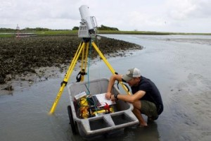 laser scanner for reef