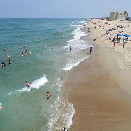 Jeannette's Pier beach