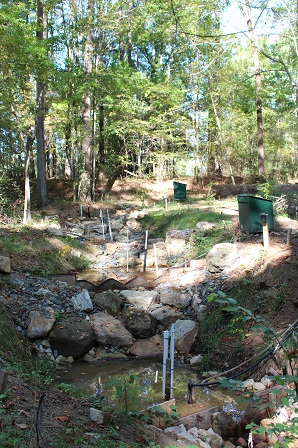 wells monitoring groundwater quality