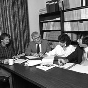 NC Sea Grant management team from the 1980s