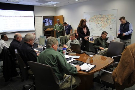 NC Emergency Management team