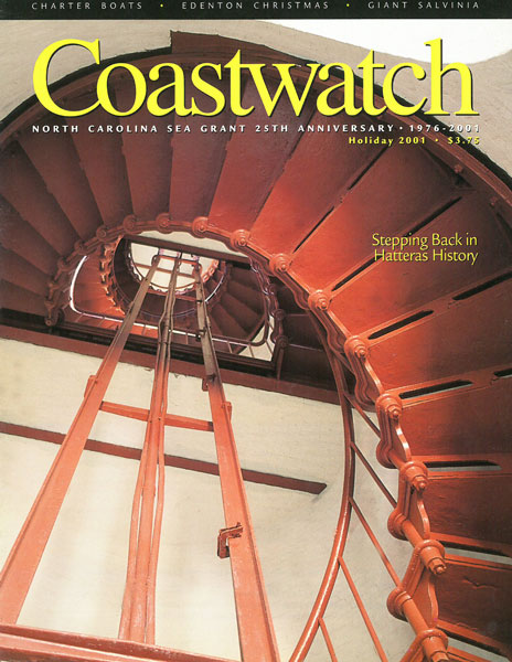 Hatteras Lighthouse stairwell. Photo by Michael Halminski