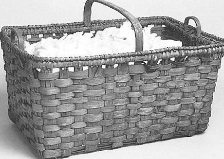 slaves handmade oak basket