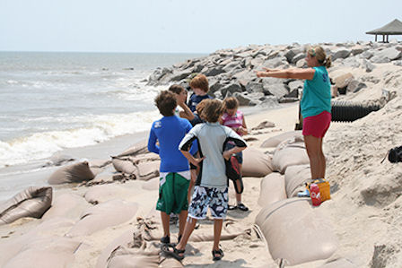 exploring beach erosion
