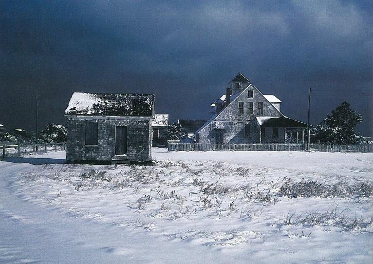 winster storm on Hatteras Island