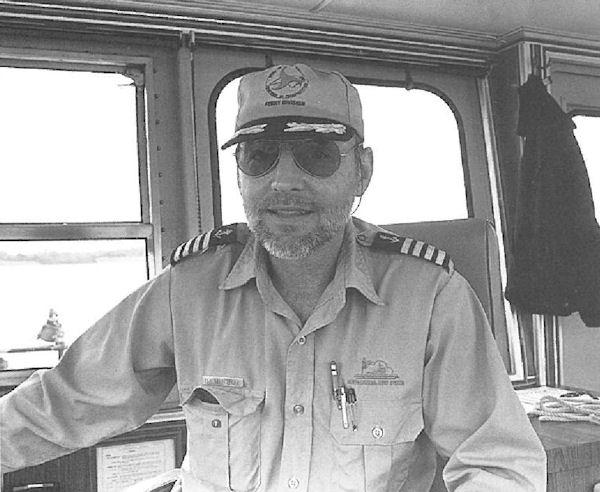 Captain Sandy Mitchell