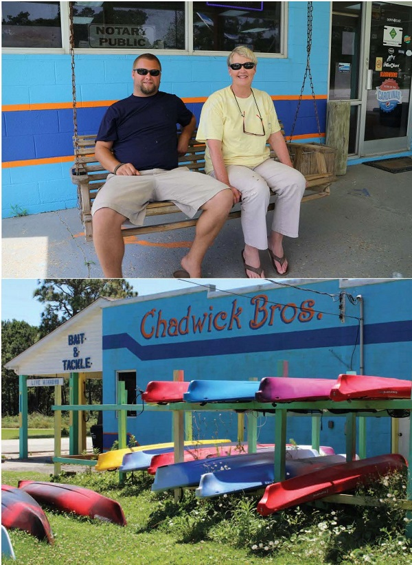 Chadwick Brothers and Down East Kayaks