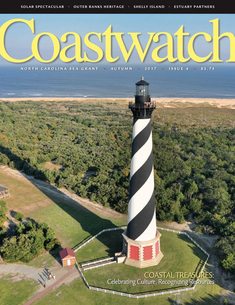 Cover of Autumn 2017 magazine with Cape Hatteras lighthouse