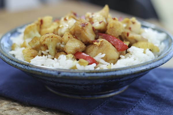 grouper stir fry
