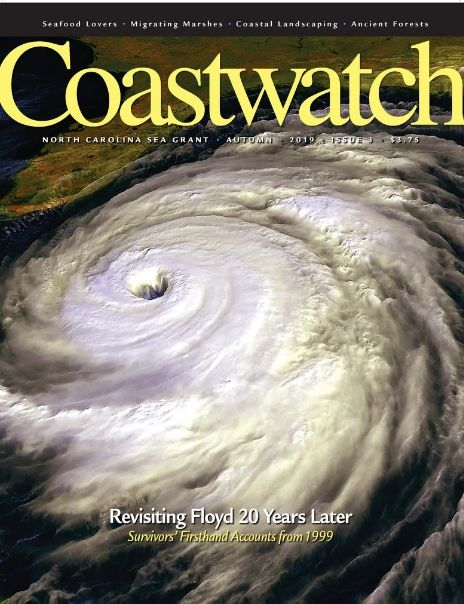 Autumn 2019 Cover of Coastwatch