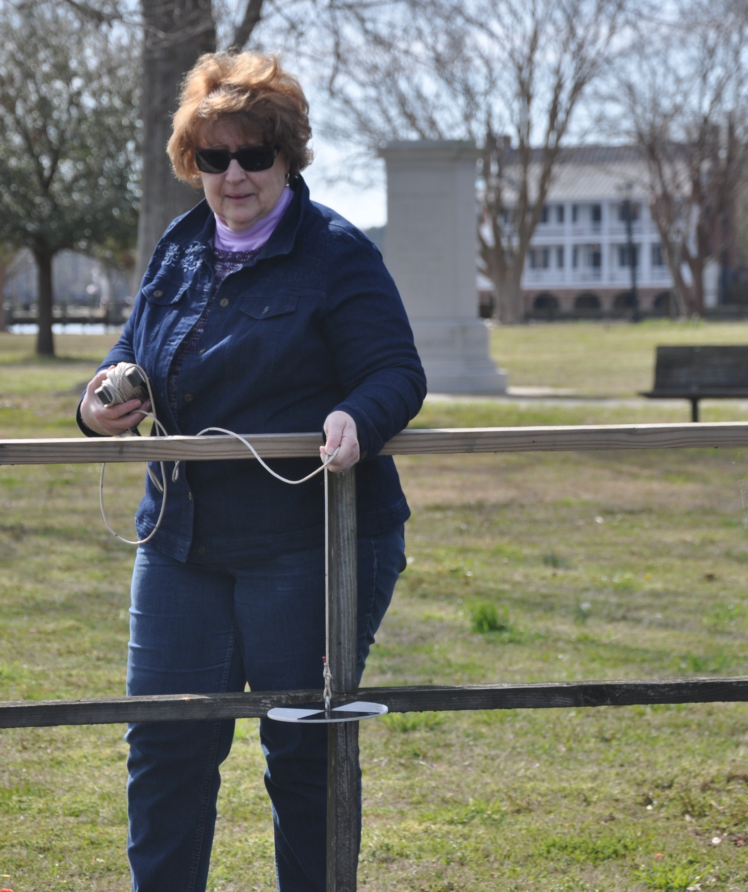 Colleen Karl, of the Chowan Edenton Environmental Group, says her community has many questions about the resurgence of blue-green algal blooms. Courtesy of Colleen Karl.