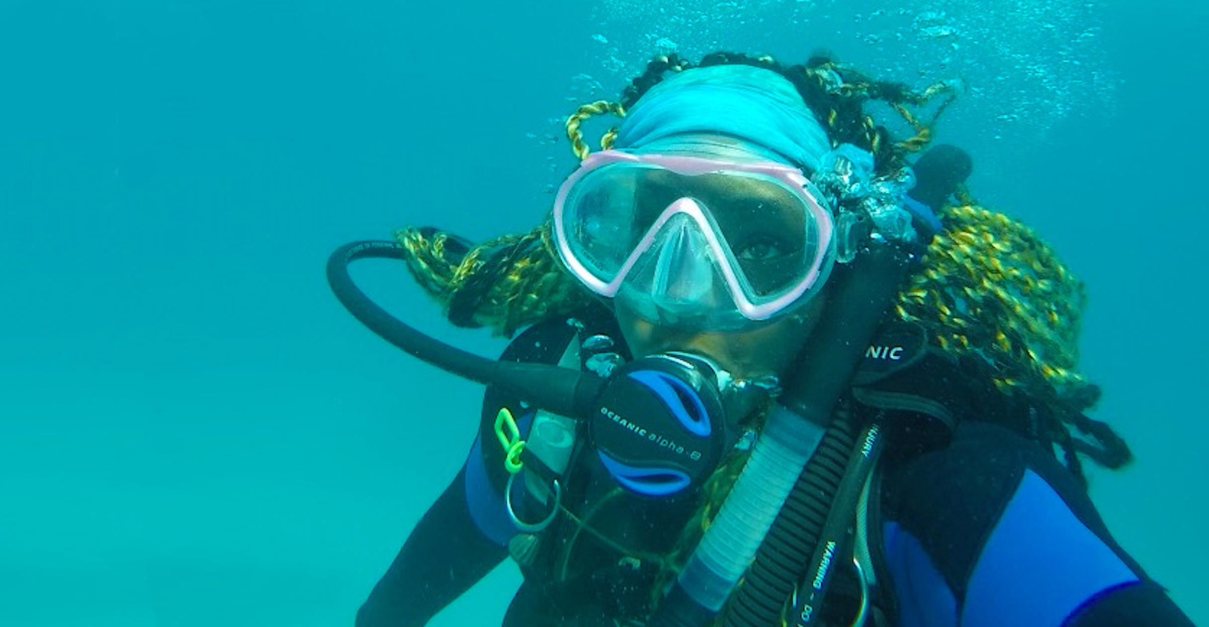 Kayelyn Simmons, winner of a prestigious John A. Knauss Marine Policy Fellowship from Sea Grant.