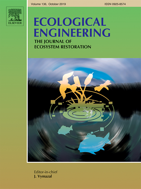 Link to Dr. Burchell's article in Ecological Engineering: The Journal of Ecosystem Management