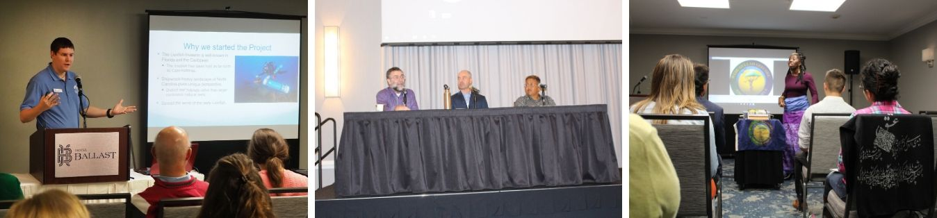 Concurrent sessions featured community speakers, student presentations, and panels.