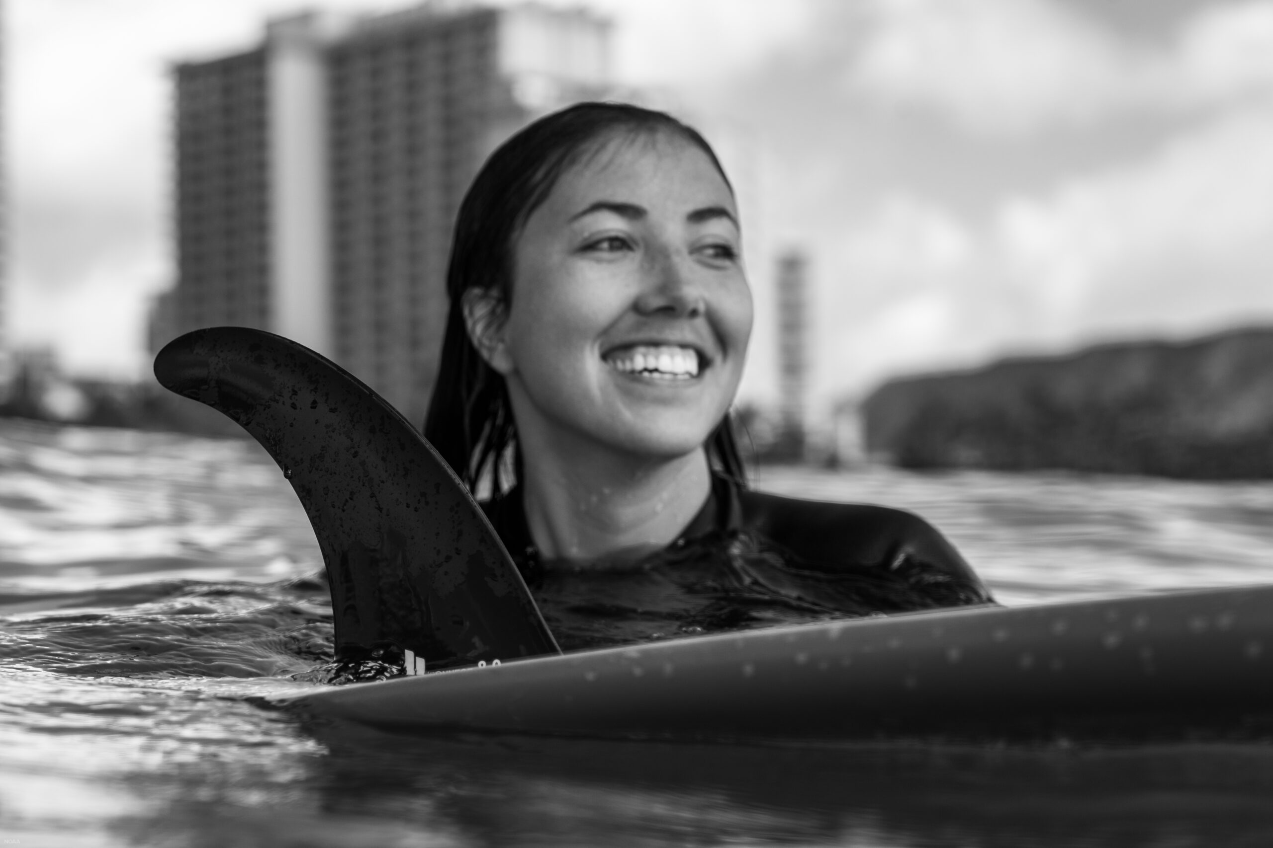 Anita Harrington is an avid surfer, and when she is not in the lab, you can find her exploring new surf breaks around Oahu