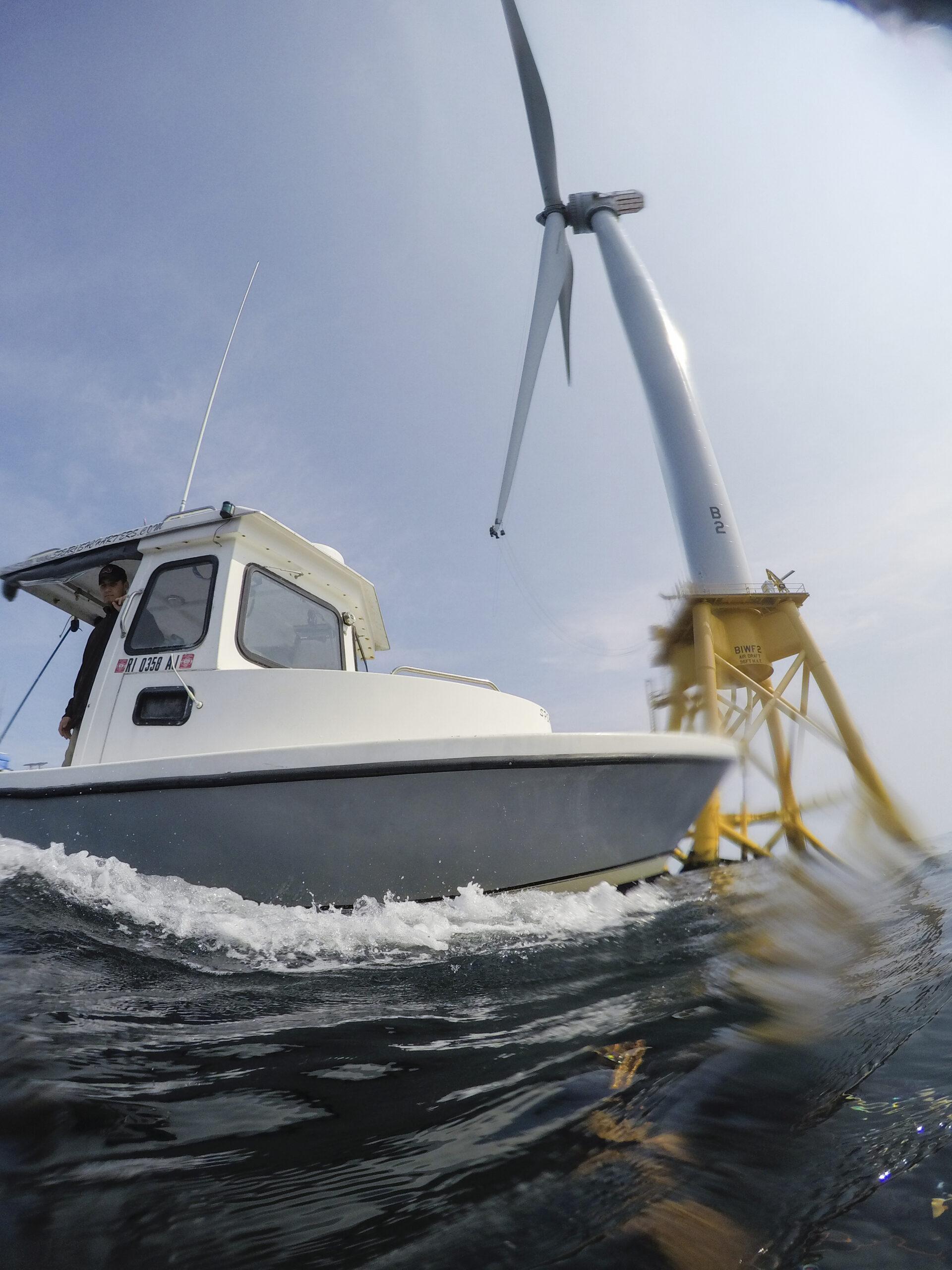 BIock Island Wind Farm, courtesy of Charlie Nutting Photography.