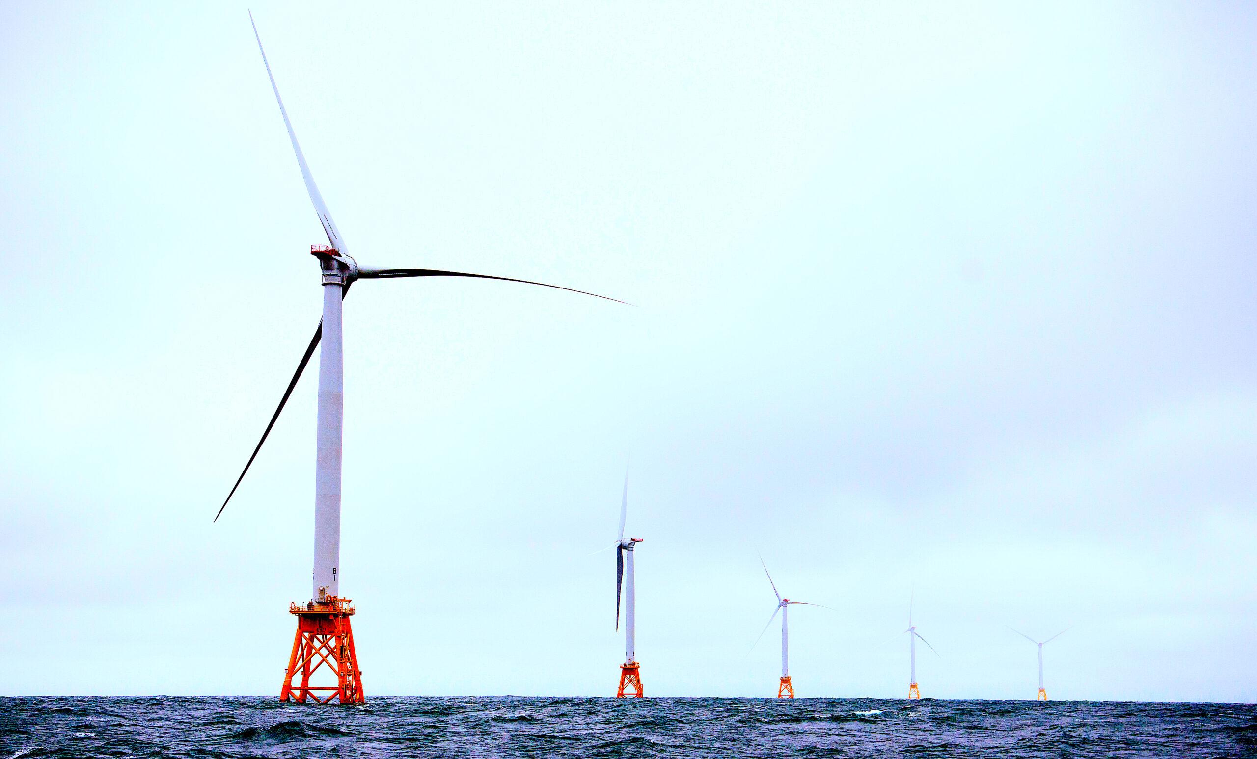 Block Island Wind Farm, courtesy of Dennis Schroeder/NREL.