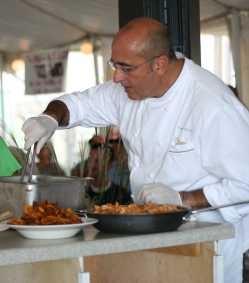 Chef Fabian Botta of Ruddy Duck Tavern, Morehead City. Photo by E-Ching Lee