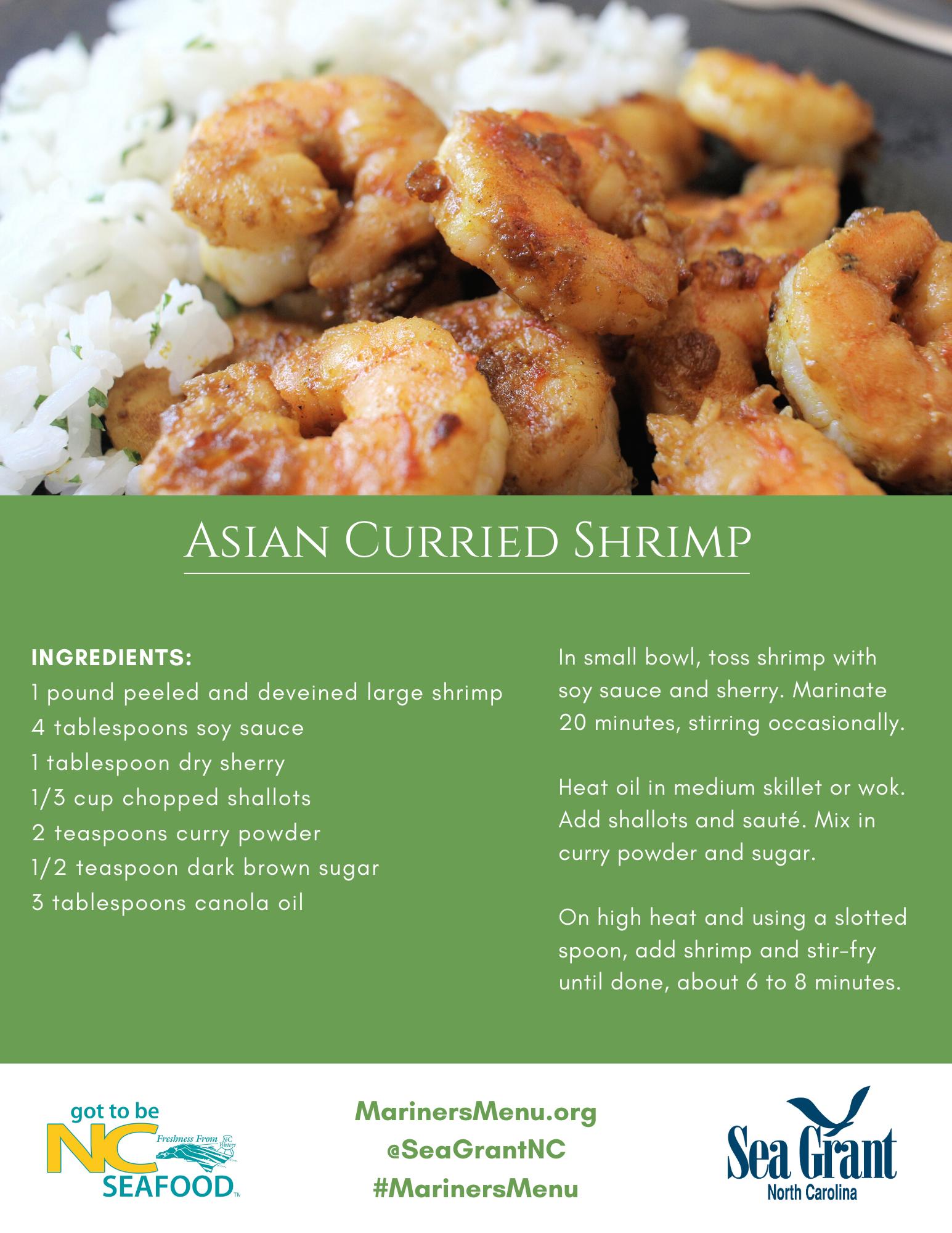 Asian Curried Shrimp