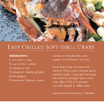 Easy Grilled Soft-Shell Crabs recipe