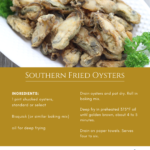 Southern Fried Oysters recipe