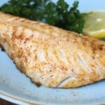 Grilled Black Sea Bass with Smoked Paprika