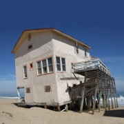 House on the beach.