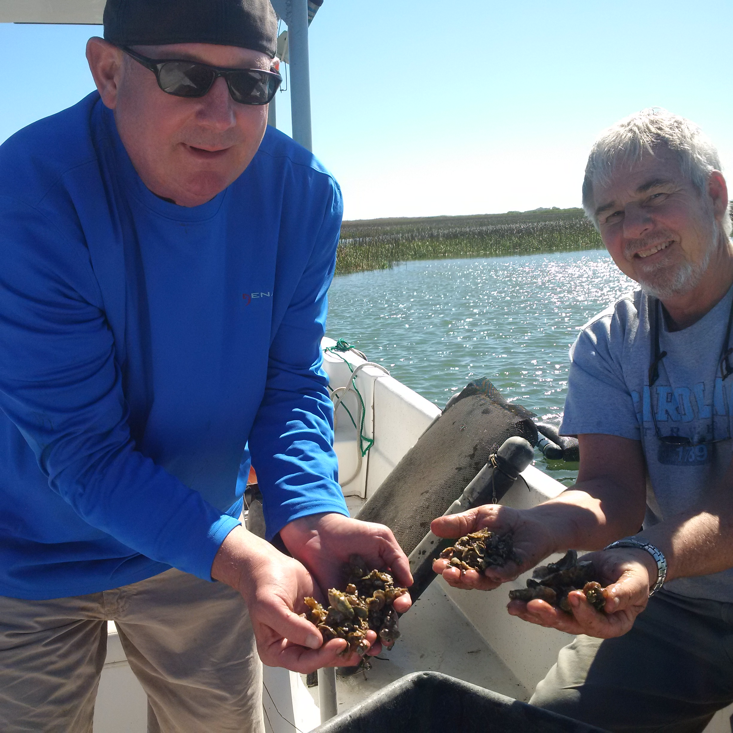 Chuck Weirich worked with many shellfish growers.