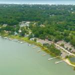 North Carolina waterfront coastal community