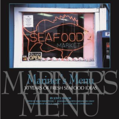 Mariner's Menu book cover
