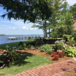 This Elizabeth City yard includes a mix of native and nonnative species.