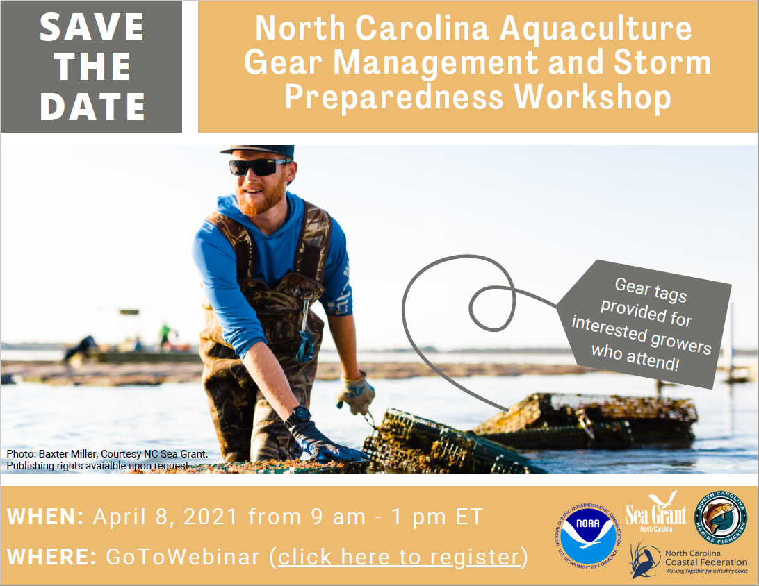 Invitation to the aquaculture gear workshop