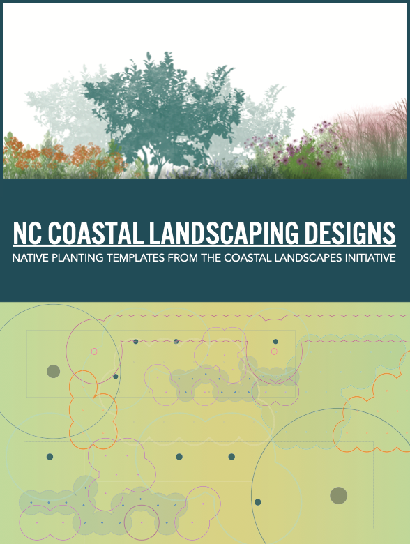 Cover of coastal landscaping designs