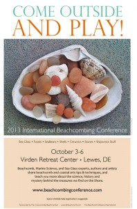 International Beachcombing Conference 2013 poster