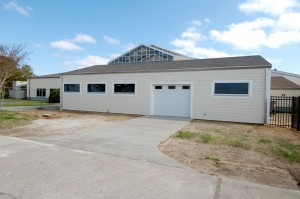 Sea Turtle Assistance and Rehabilitation building at NC Aquarium at Roanoke Island