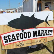 Seafood Market sign