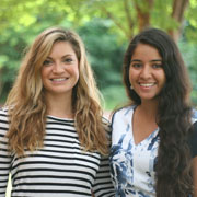 Rachel Henson and Navneet Atwal, Environmental Policy Interns