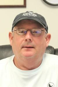 Chuck Weirich, marine aquaculture specialist