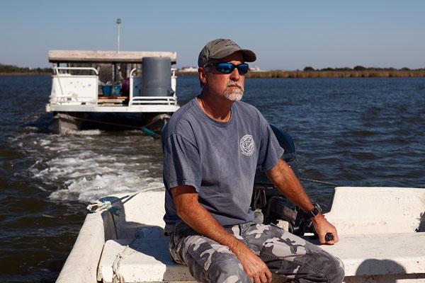 Jay Styron of Carolina Mariculture Company