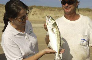 Sara Mirabilio Surf Fishing