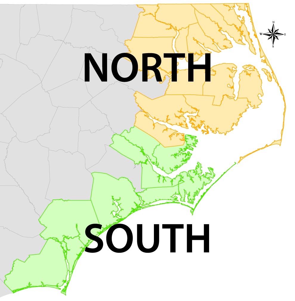 Availability Map North South