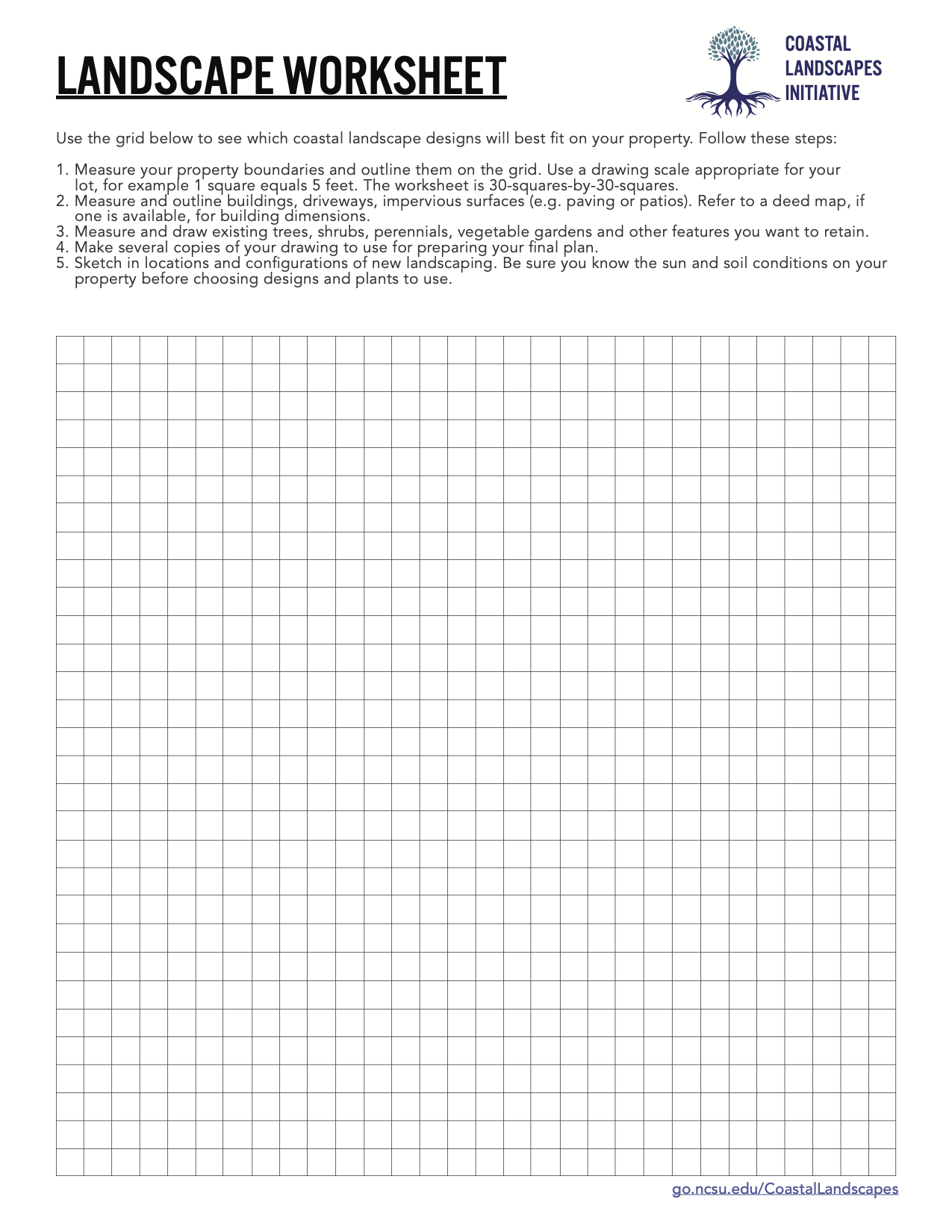 An image of a worksheet with a grid on it for sketching in designs.